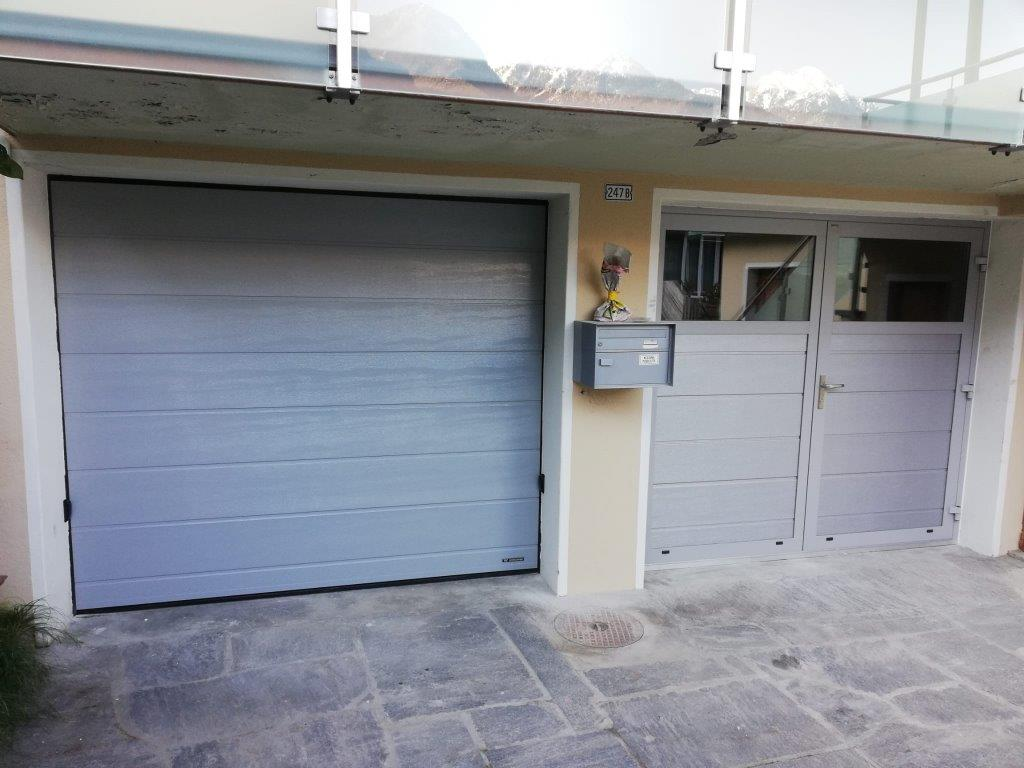 Porta garage in alluminio - Automatic Service