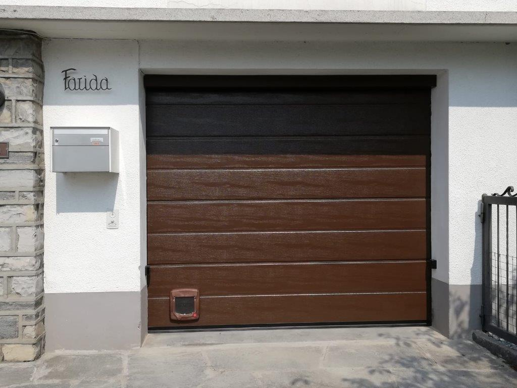 Porta garage in legno - Automatic Service